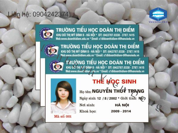In thẻ học sinh nhanh Hà Nội | In thẻ đại biểu nhanh, rẻ tại Hà Nội | In the, in the nhua, in the nhan vien, in the nhan vien, in the gia re tai Ha Noi