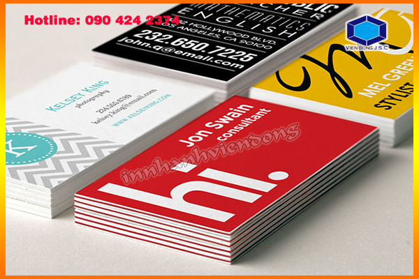 General Procedure for Printing Business Card | In Card lấy ngay sau 05 phút Hà Nội | In the, in the nhua, in the nhan vien, in the nhan vien, in the gia re tai Ha Noi